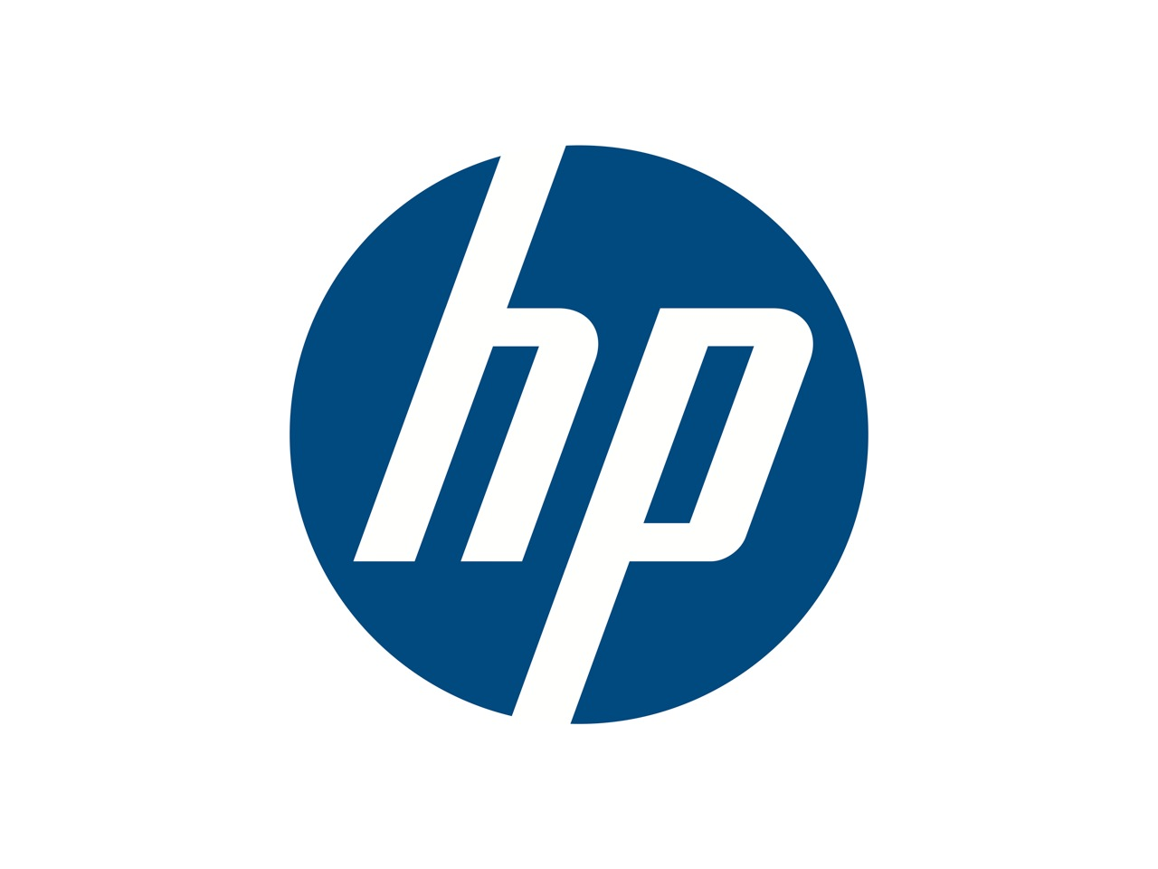 HP (Hewlett-Packard) logo