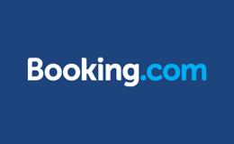 Booking.com logo /link til butikkside