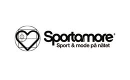 Sportamore logo / link til butikkside