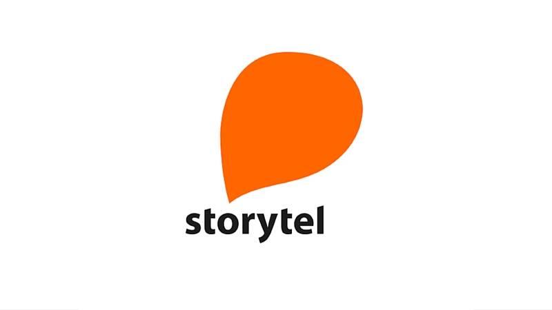 Storytel logo / link til butikkside