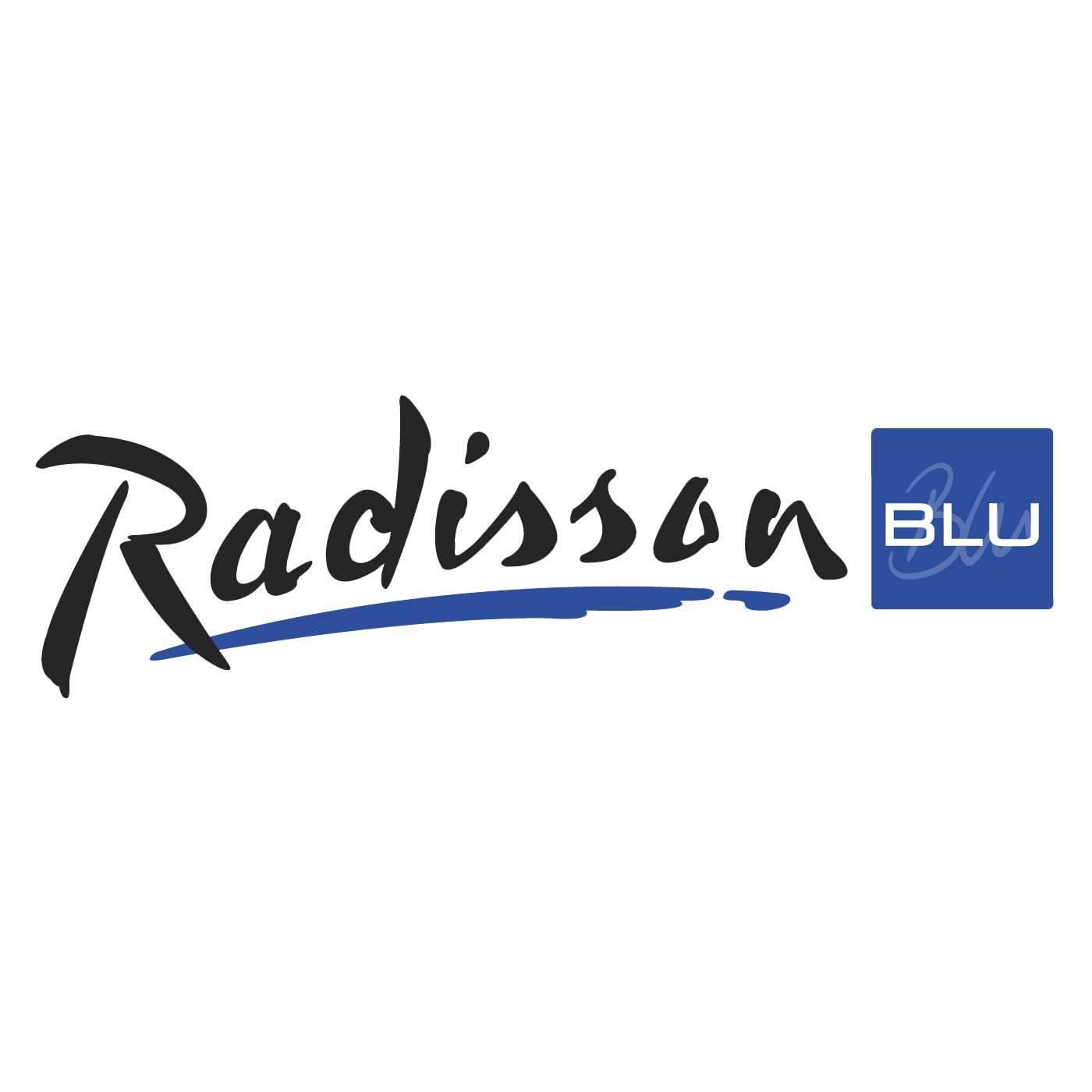 Radisson Blu logo / link til butikkside