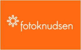 Fotoknudsen logo / link til butikkside