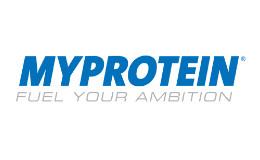 MyProtein logo /link til butikkside