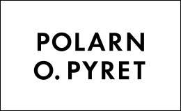 Polarn O. Pyret logo / link til butikkside