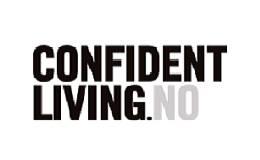 Confident Living logo / link til butikkside